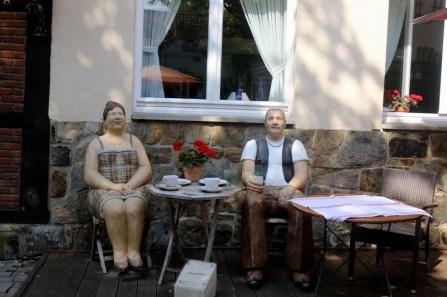 """Die """"Alltagsmenschen"""" der Wittener Künstlerin Christel Lechner"""