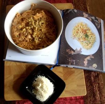 Spaghetti con le Noci / Spaghetti mit Walnussugo